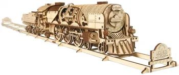 3D пазл UGears V-Express Steam Train with Tender