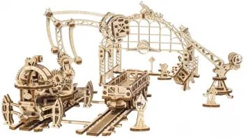 3D пазл UGears Rail Mounted Manipulator