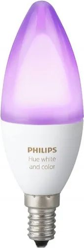 Лампочка Philips Hue White and Color Ambiance B39 2Pack