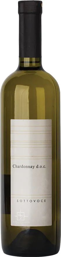 Вино Sottovoce Chardonnay Piave Linea Sottovoce біле сухе 0.75 л 12.5% (8003030888909)