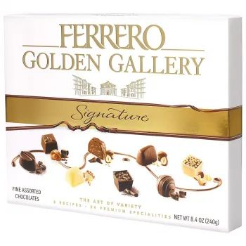 Цукерки Ferrero Golden Gallery Signature 240 г