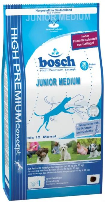 Корм для собак Bosch Junior Medium 15 kg