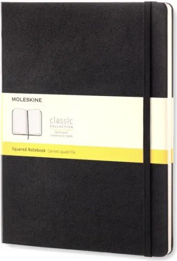 Блокнот Moleskine Squared Notebook Extra Large Black