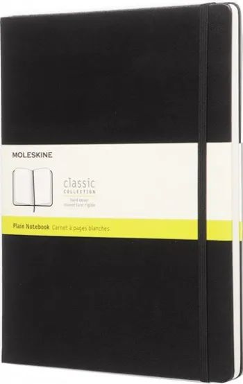 Блокнот Moleskine Plain Notebook Extra Large Black