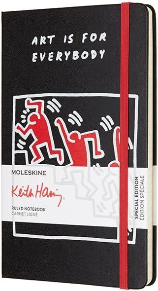 Блокнот Moleskine Keith Haring Ruled