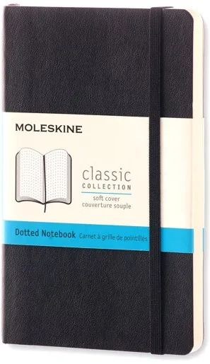 Блокнот Moleskine Dots Soft Notebook Small Black