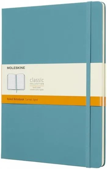 Блокнот Moleskine Ruled Notebook Extra Large Turquoise